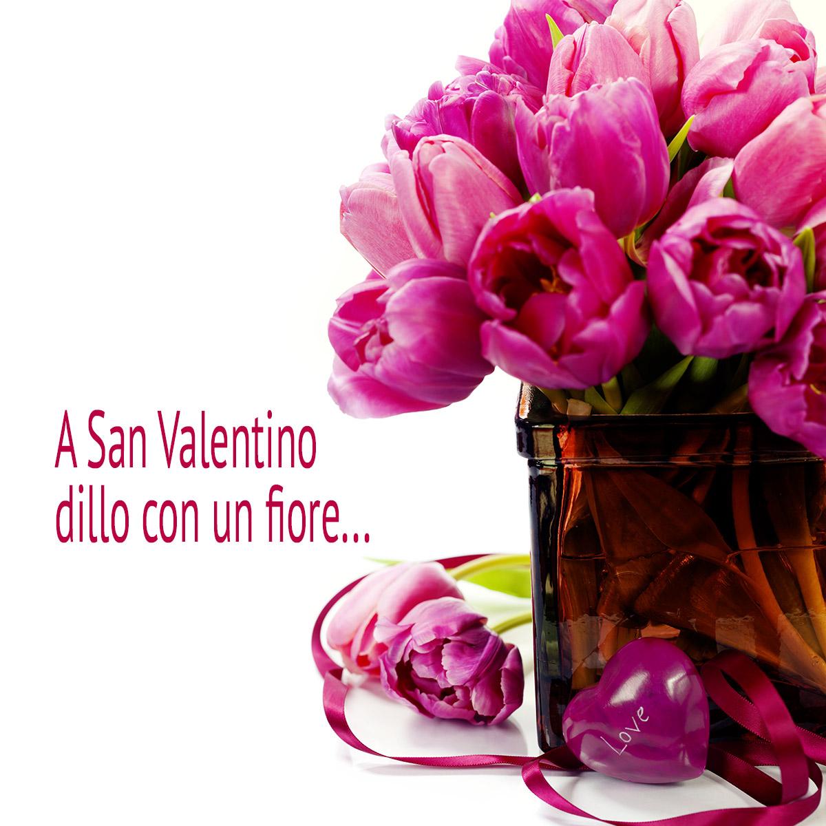 A San Valentino Dillo Con Un Fiore