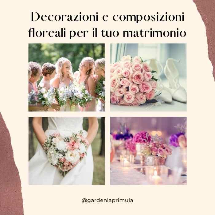 Decorazioni E Composizioni Floreali Per Il Tuo Matrimonio